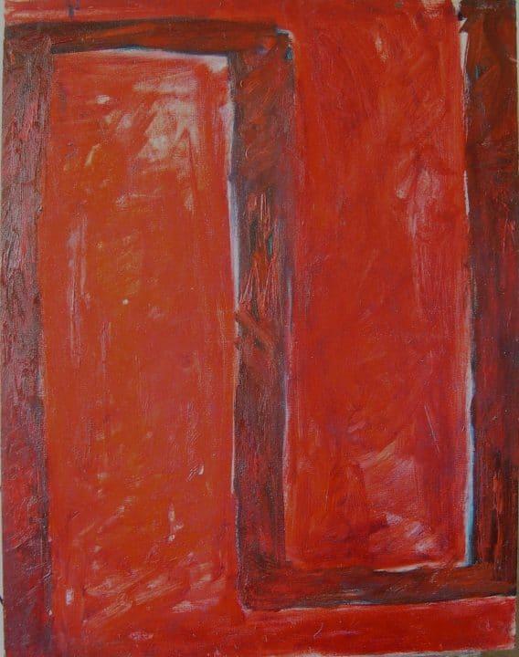 Im Raum der roten Stühlen