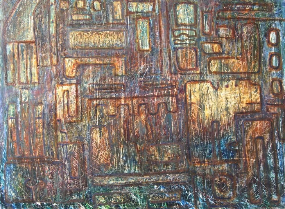 Komposition im peruanischem Stil