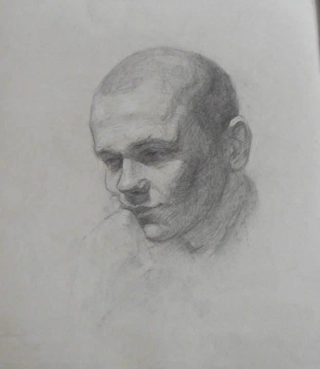 Porträt von einem jungen Mann